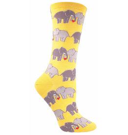 Socksmith Women's Buttercup Elephant Love Socks