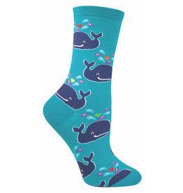 Socksmith Women's Bermuda Blue Whale Socks