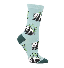Socksmith Women's Blue Panda Bear Socks