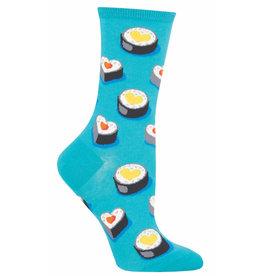 Socksmith Women's Teal Love at First Bite Socks