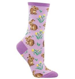 Socksmith Women's Lavender Relaxed Rabbit Socks