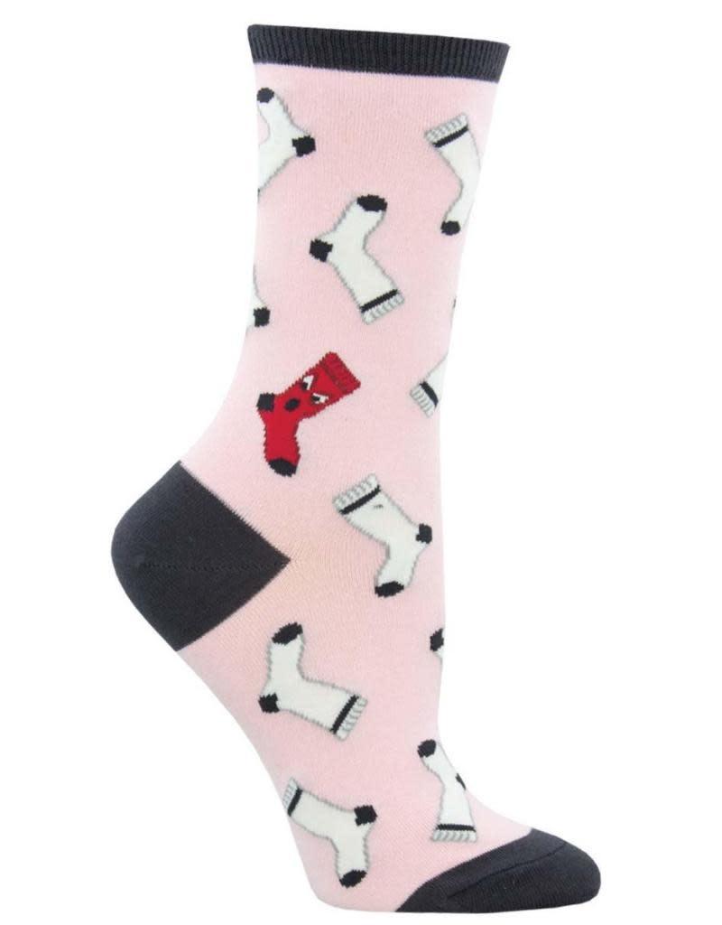 Socksmith Women's Pink Dirty Laundry Socks