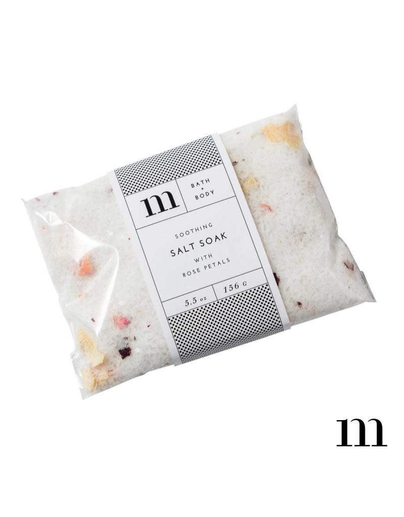 Mixture Rose Salt Soak Envelope