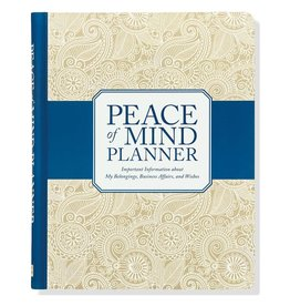 Peter Pauper Peace of Mind Planner