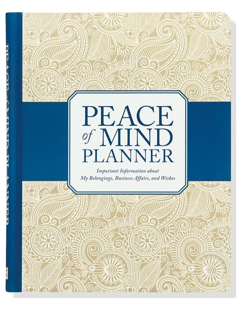 Peter Pauper Peace of Mind Planner