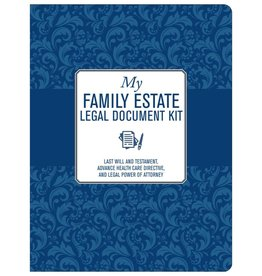 Peter Pauper My Family Estate Legal Document Kit