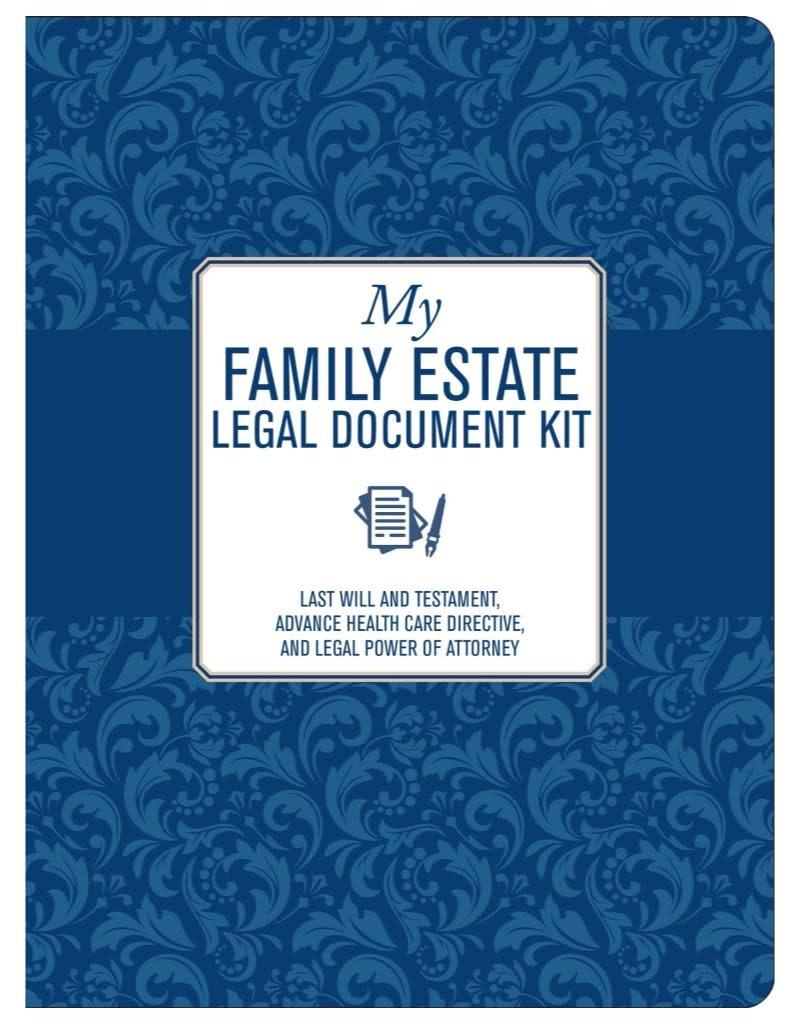 Peter Pauper My Family Estate Legal Document Kit