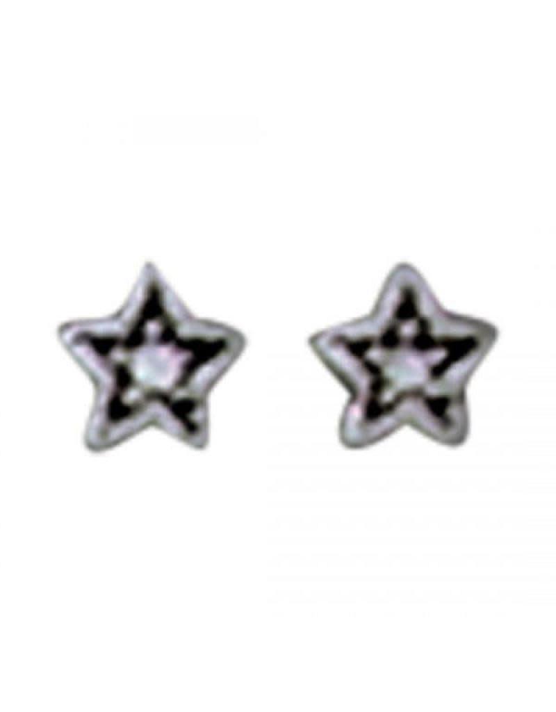 Acomo Jewelry Cubic Zirconium Mini Stars Stud Earring