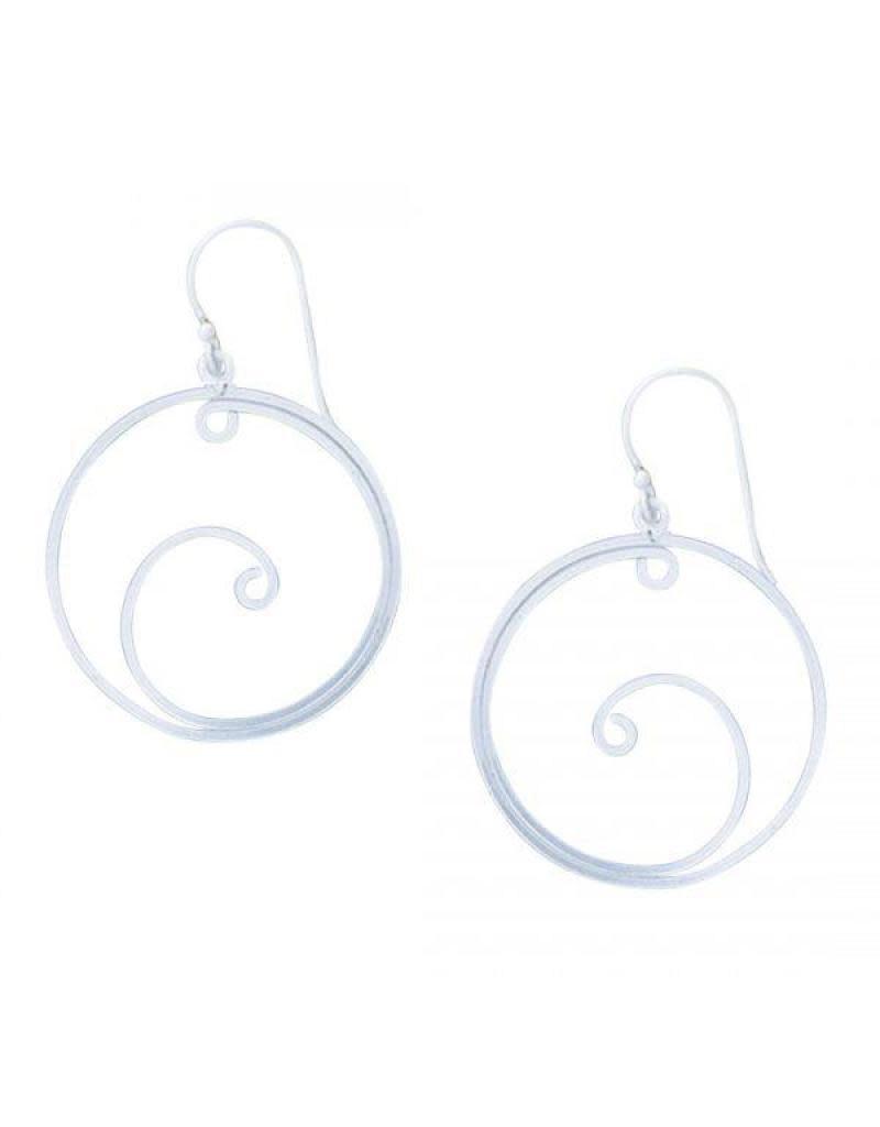 Acomo Jewelry Swirl in Circle Earring
