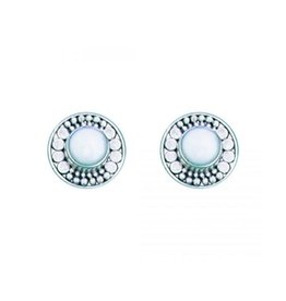 Bali Design Fresh Water Pearl Stud