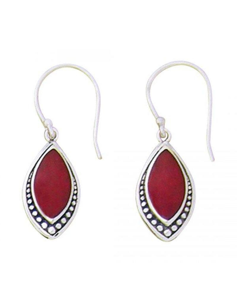 Acomo Jewelry Coral Marquis Earring