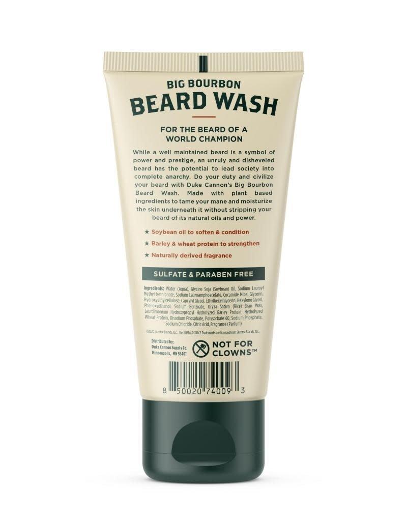 Duke Cannon Supply Co Bourbon Beard Wash 6oz