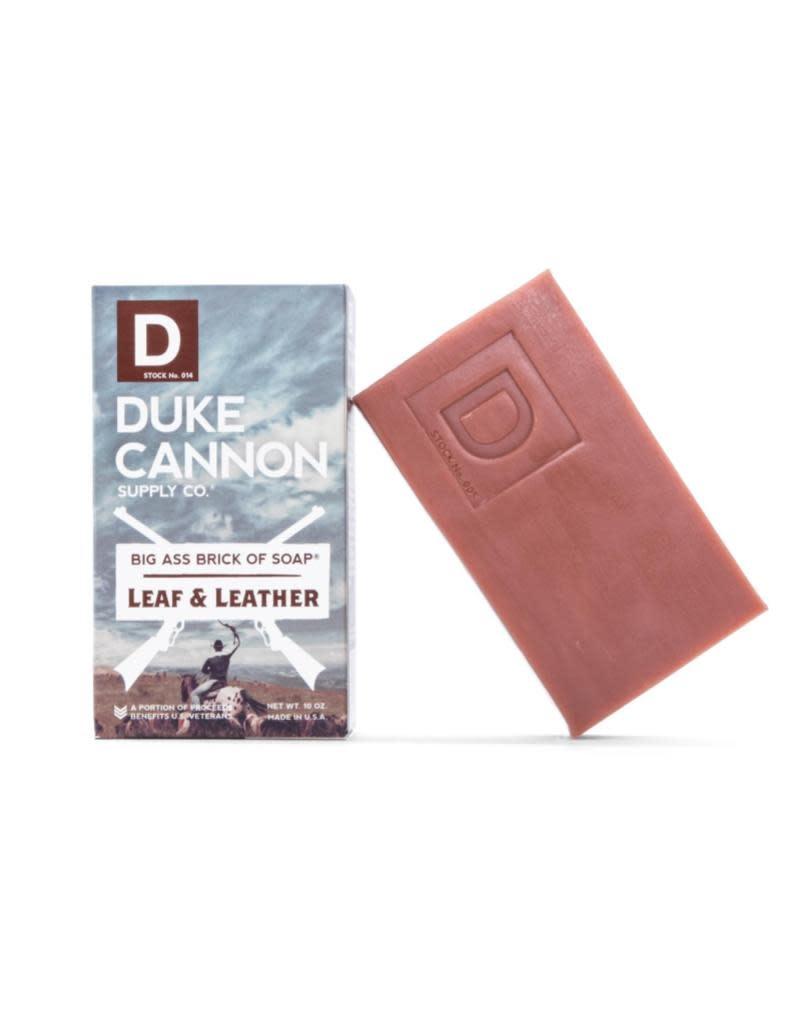 Duke Cannon Supply Co Big Ass Bar of Soap Leaf & Leather