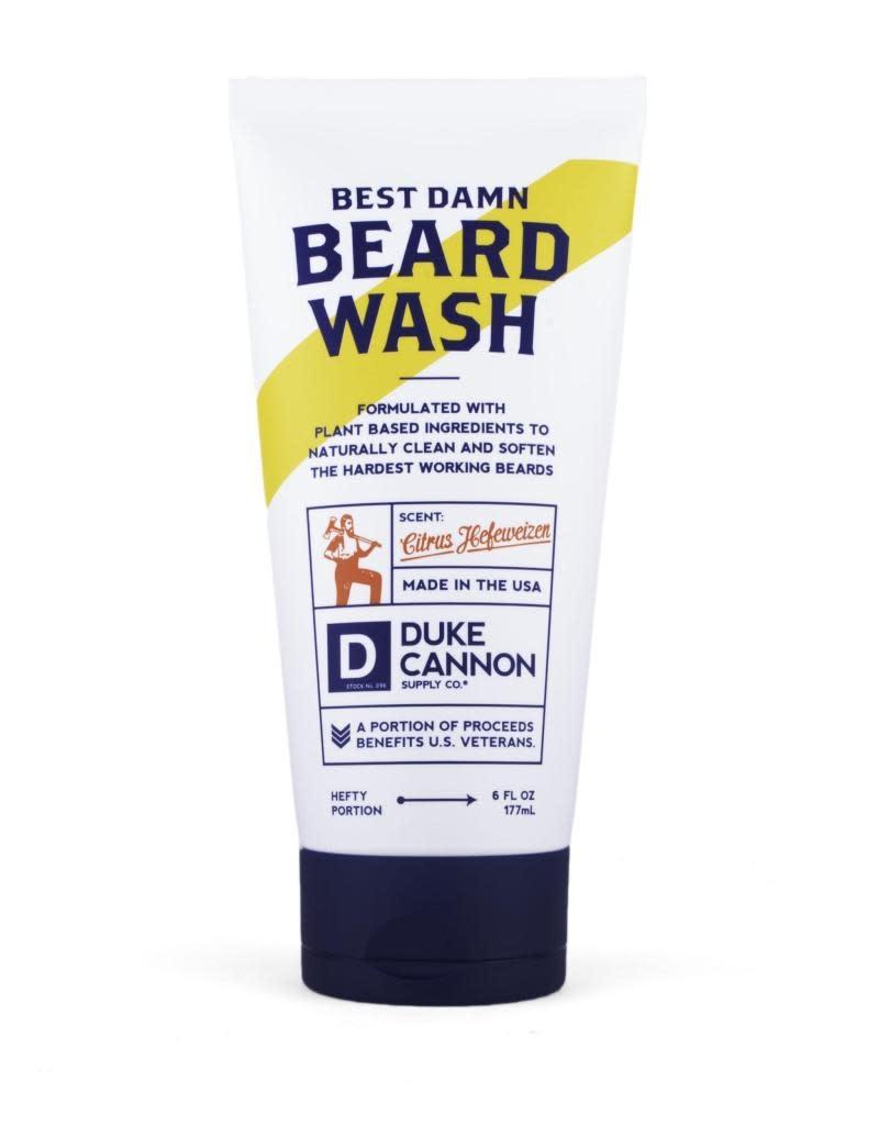 Duke Cannon Supply Co Best Damn Beard Wash 6oz