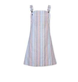 Purnell Women's Multi Stripe Overall Dress