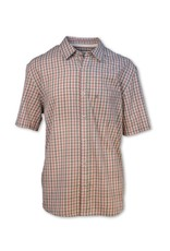 Purnell Men's Short Sleeve Checkered Shirt