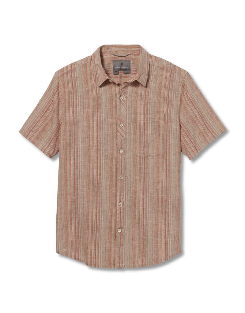 Royal Robbins Men's Hempline Vertical Short Sleeve Shirt