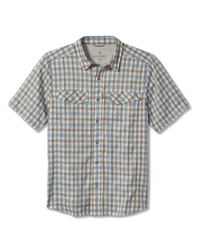 Royal Robbins Men's Travel Light Short Sleeve Shirt