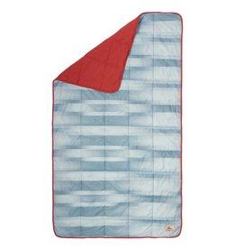 Kelty Bestie Blanket Cranberry/Painted Ombre
