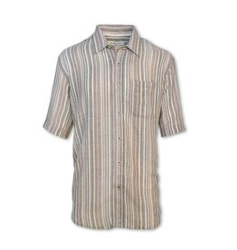 Purnell Men's Striped Madras Shirt