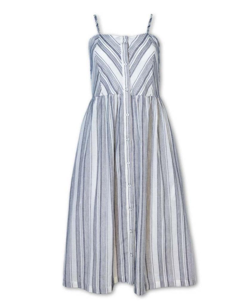Purnell Women's Dobby Button Dress