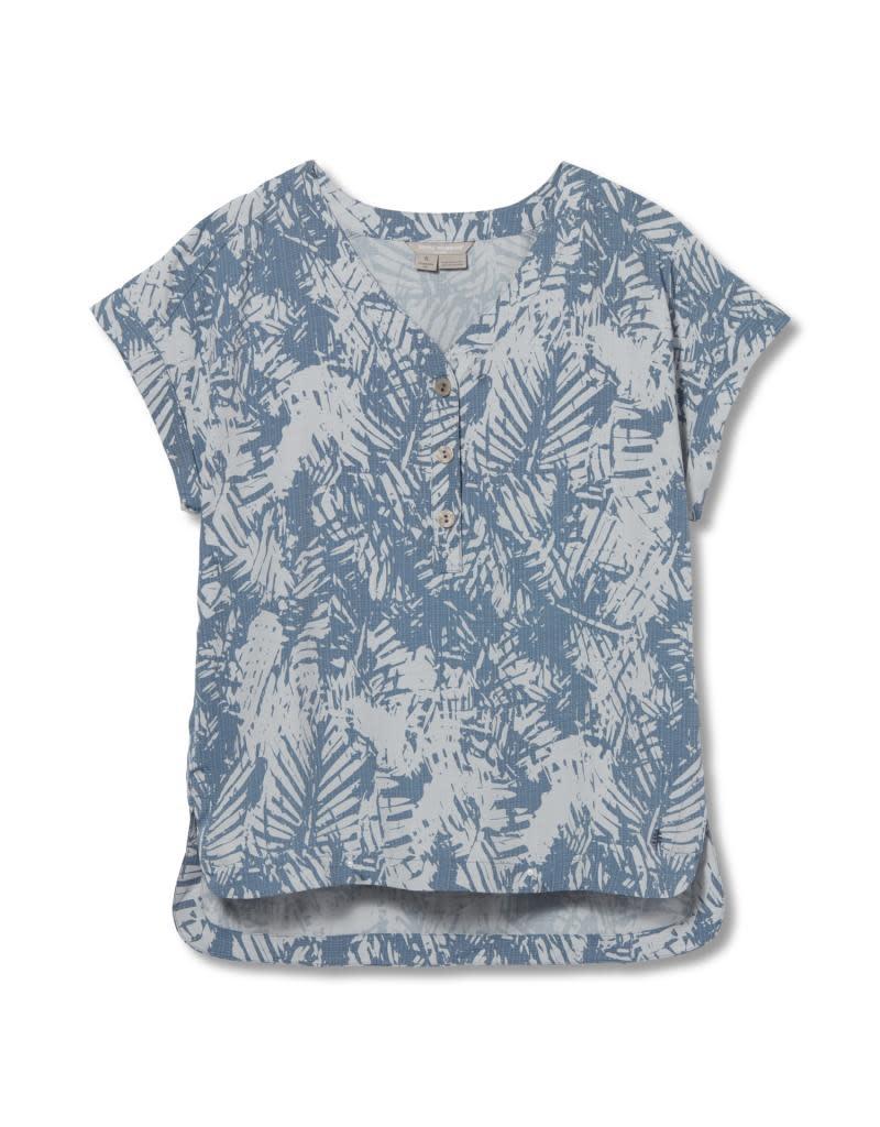 Royal Robbins Women's Bergen Pullover Short Sleeve Shirt