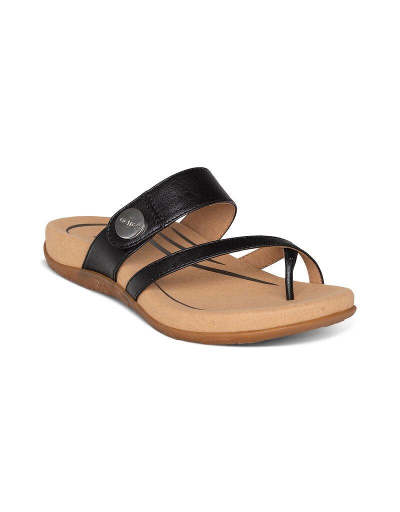 Aetrex Izzy Adjustable Slide Sandal