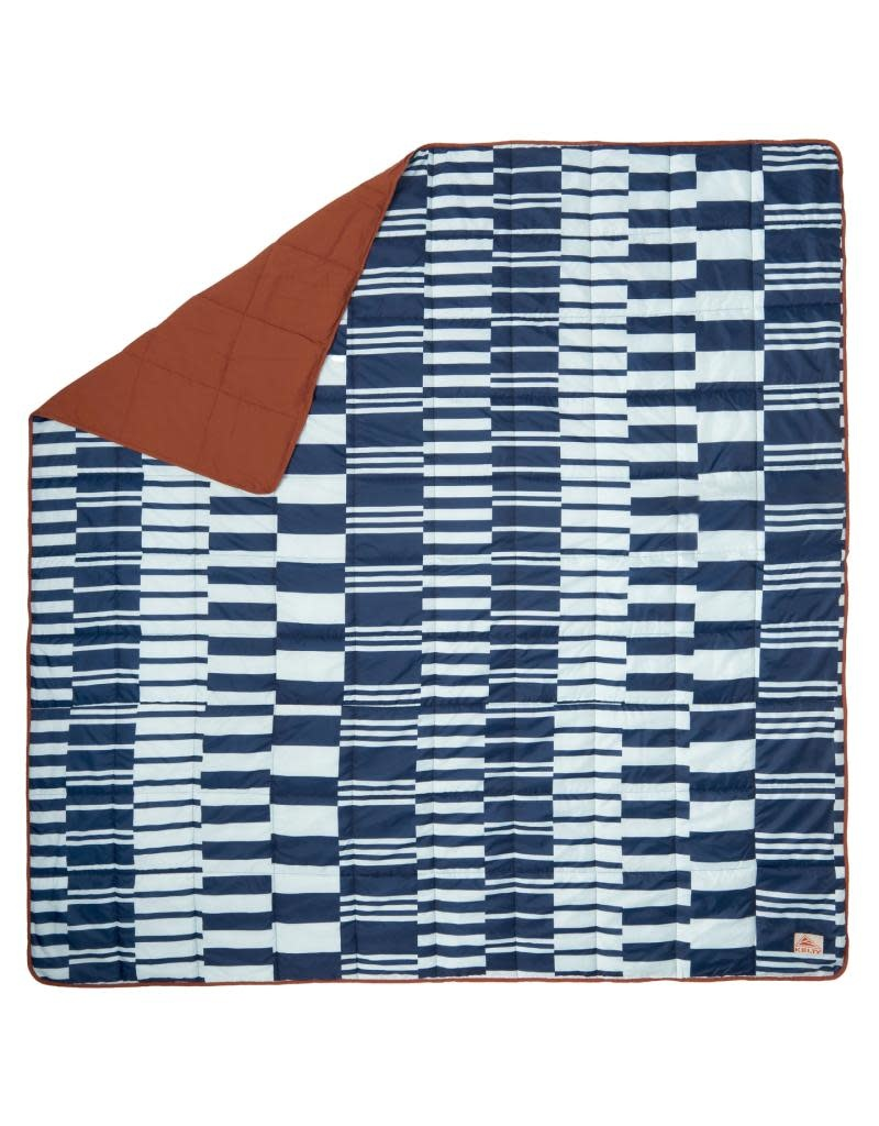 Kelty Biggie Blanket Winter Gingerbread / Retro Stripes
