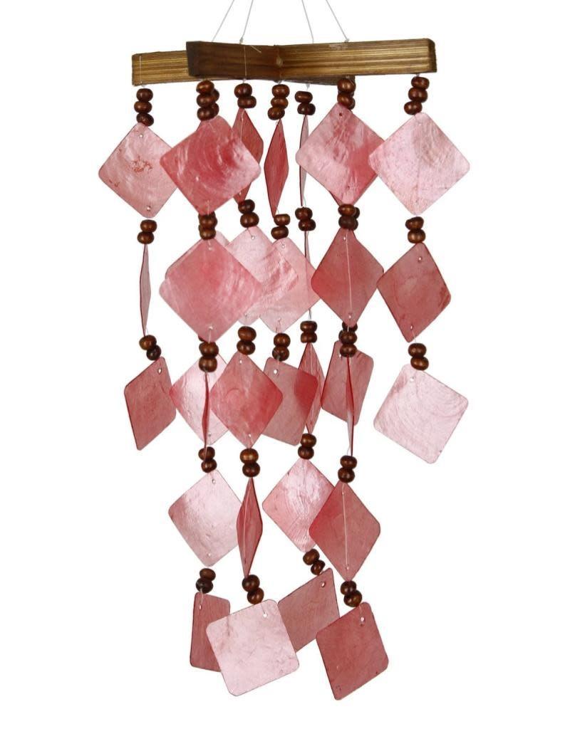 Woodstock Chimes Diamond Capiz Windchime