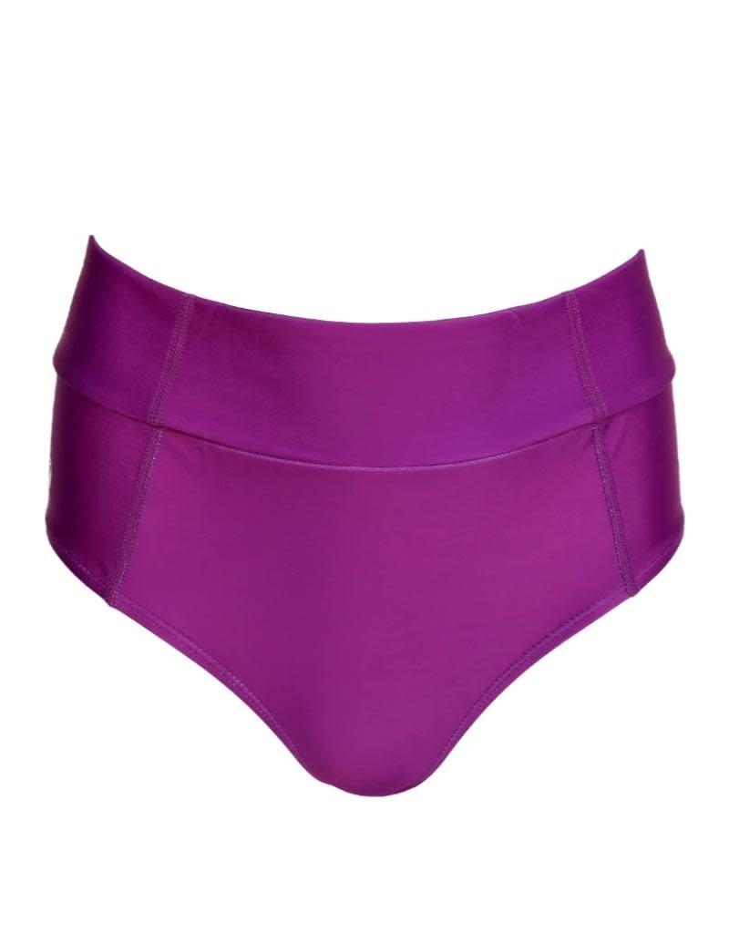 nani Swimwear Plum Flatlock Bottom