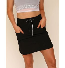 nani Swimwear Black Hybrid Skirt