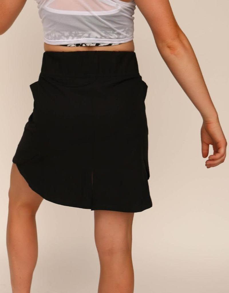 nani Swimwear Black Hybrid Skirt