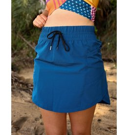 nani Swimwear Navy Hybrid Skirt