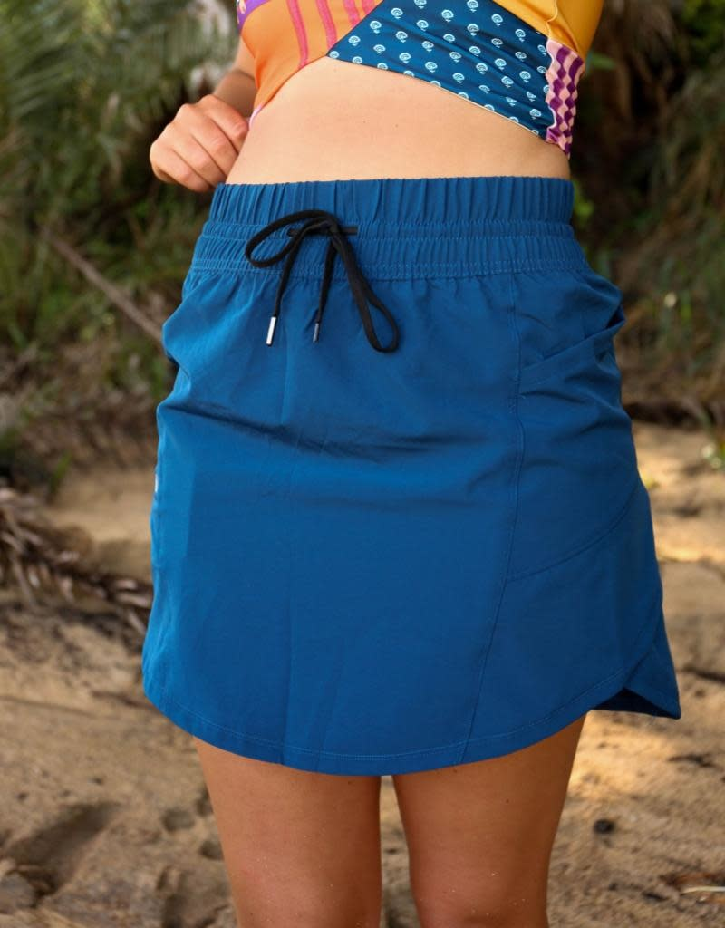 nani Swimwear Navy Hybrid Skirt