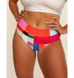nani Swimwear Kaleidoscope Mid Rise Swim Bottom