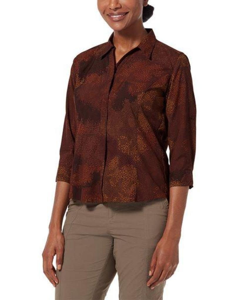 Royal Robbins Women's Expedition Print 3/4 Sleeve Shirt