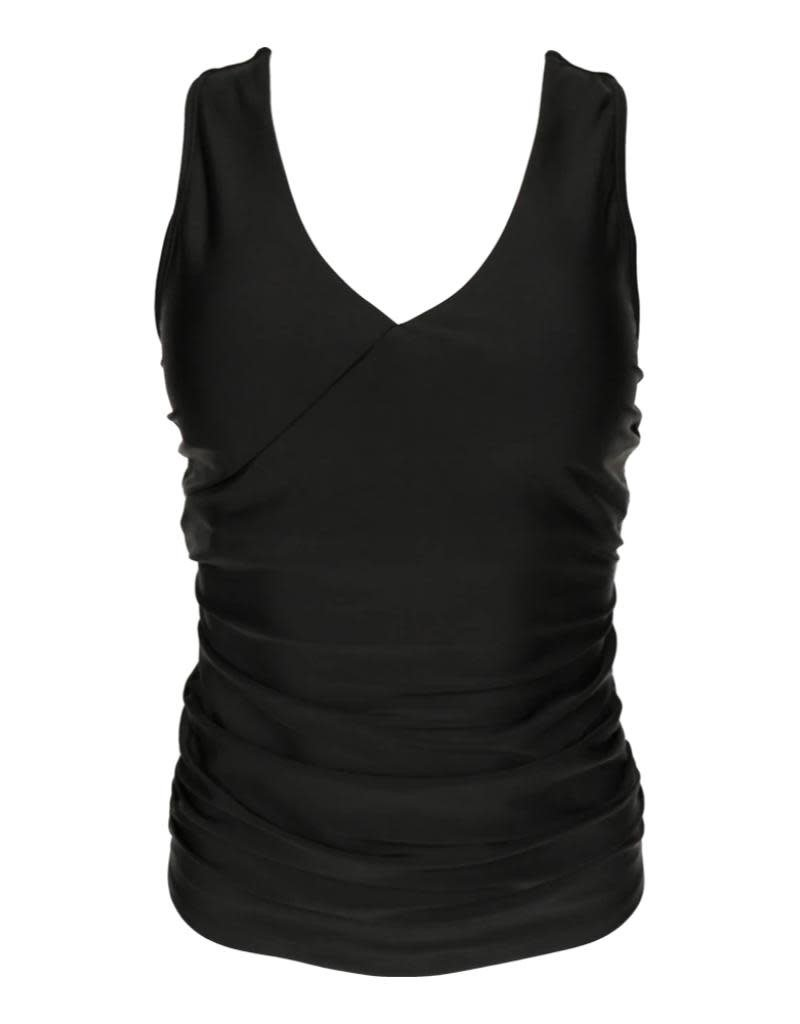 nani Swimwear Black Switch V Tankini