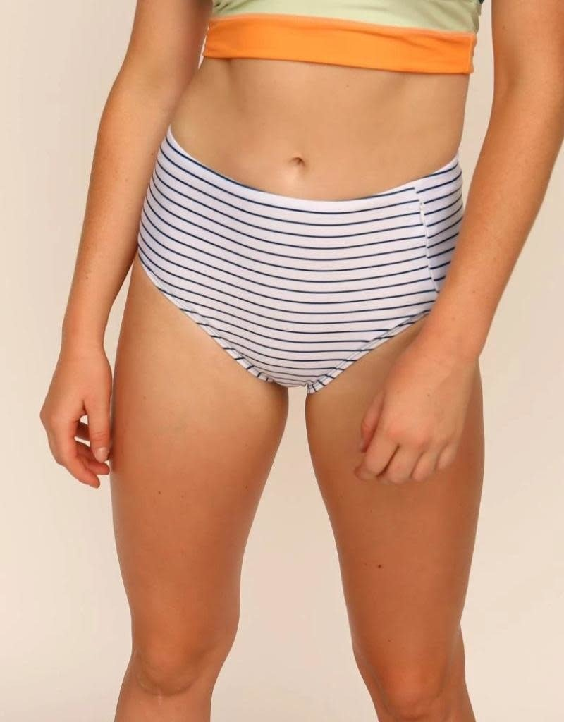 nani Swimwear Pinstripe Zip Pocket Bottom