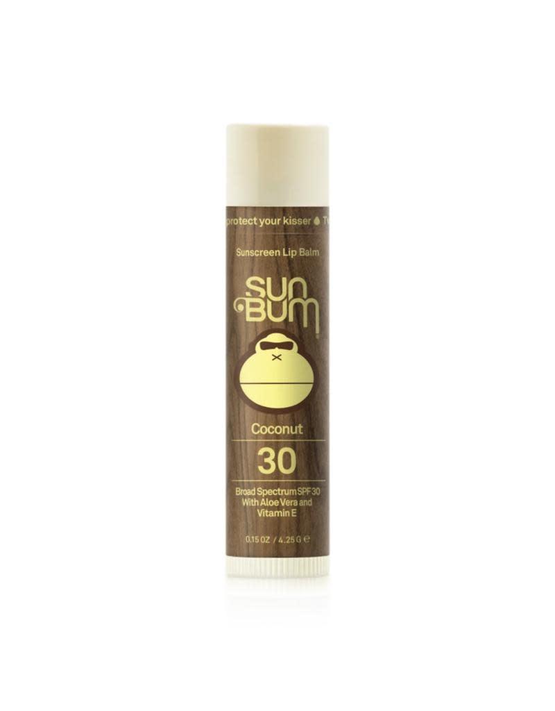 SUN BUM SPF 30 Coconut Lip Balm 0.15 oz