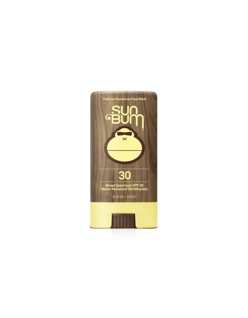 SUN BUM SPF 30 Sunscreen Face Stick 0.45 oz