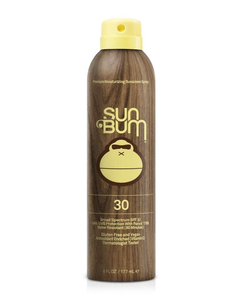 SUN BUM SPF 30 Sunscreen Spray  6 oz