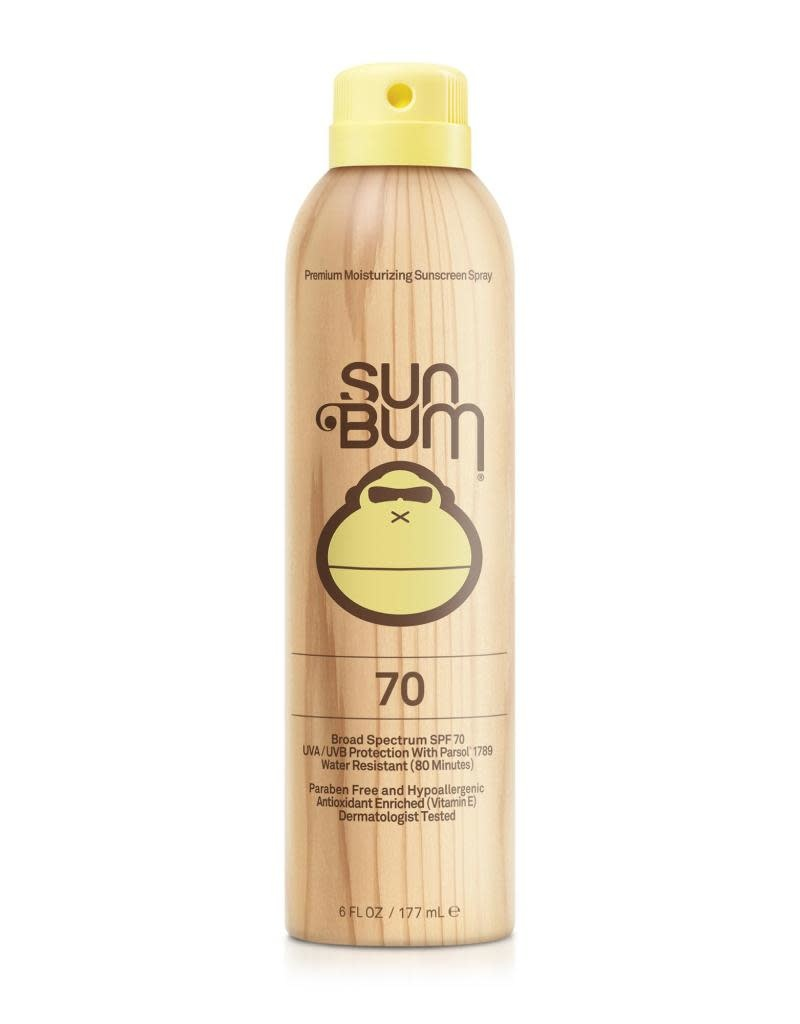 SUN BUM SPF 70 Sunscreen Spray  6 oz