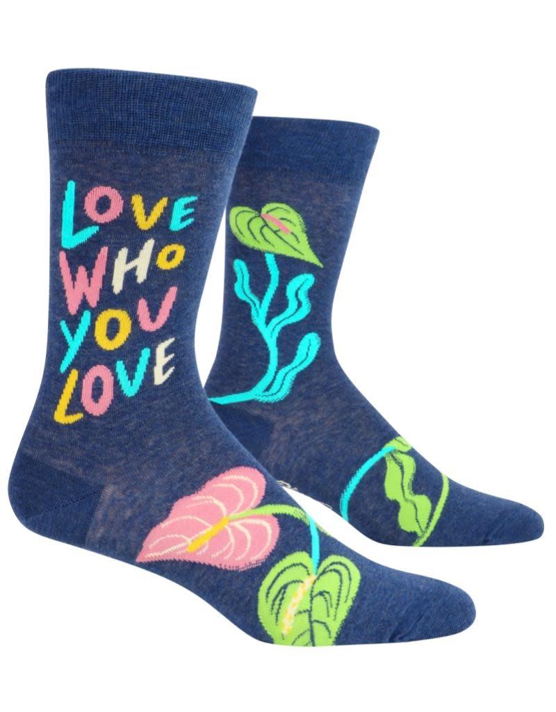 Blue Q Love Who You Love Men's Socks