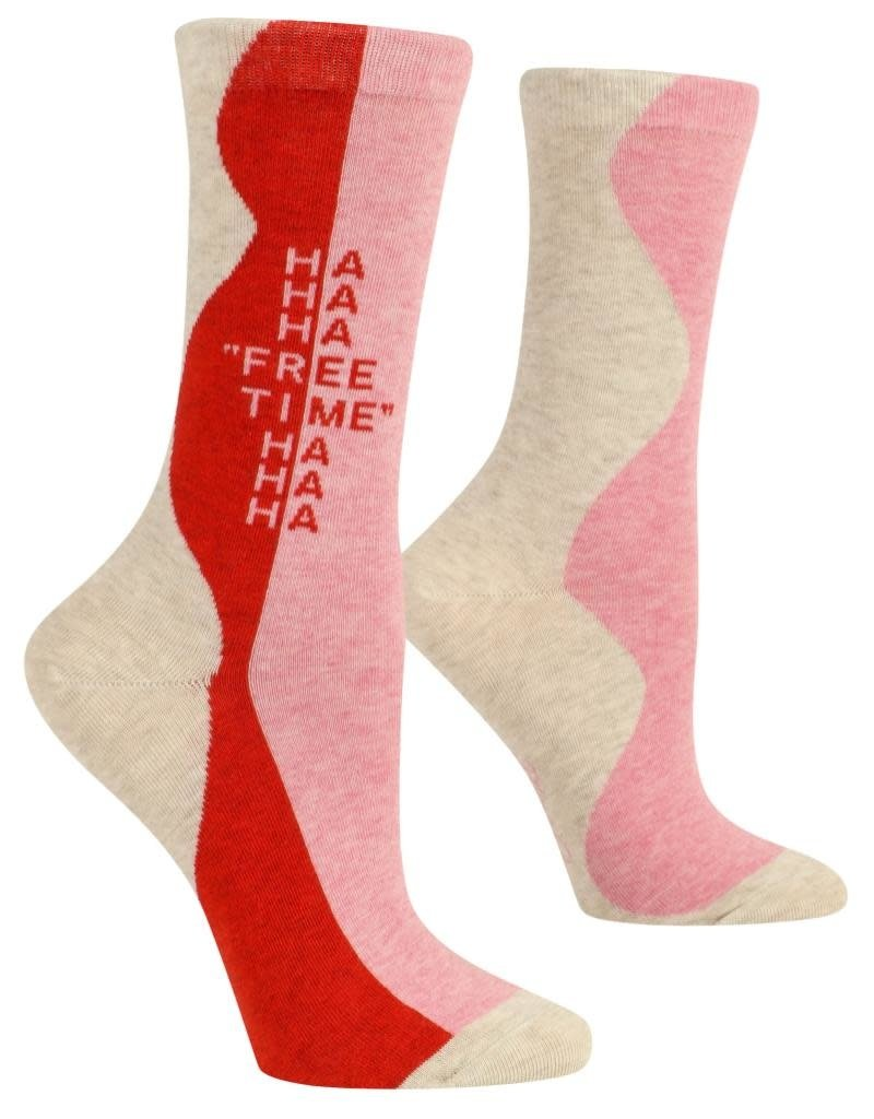 Blue Q Free Time Women's Crew Socks