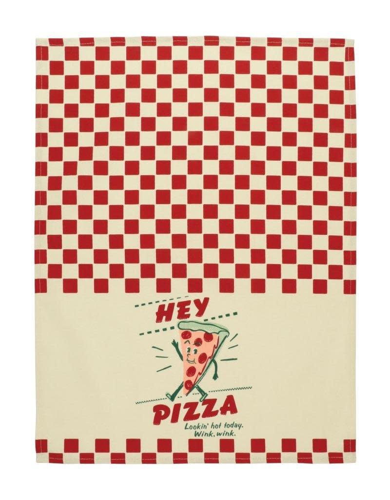 Blue Q Hey Pizza Dishtowel