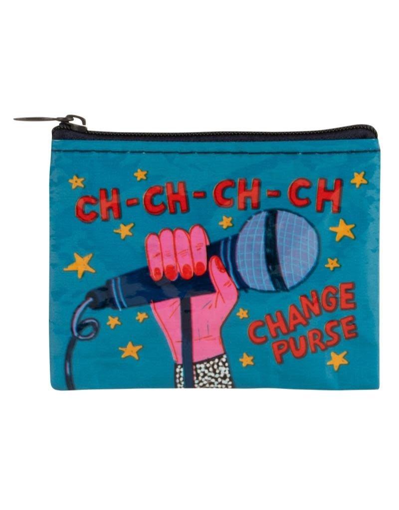 Blue Q Ch-Ch-Change Coin Purse
