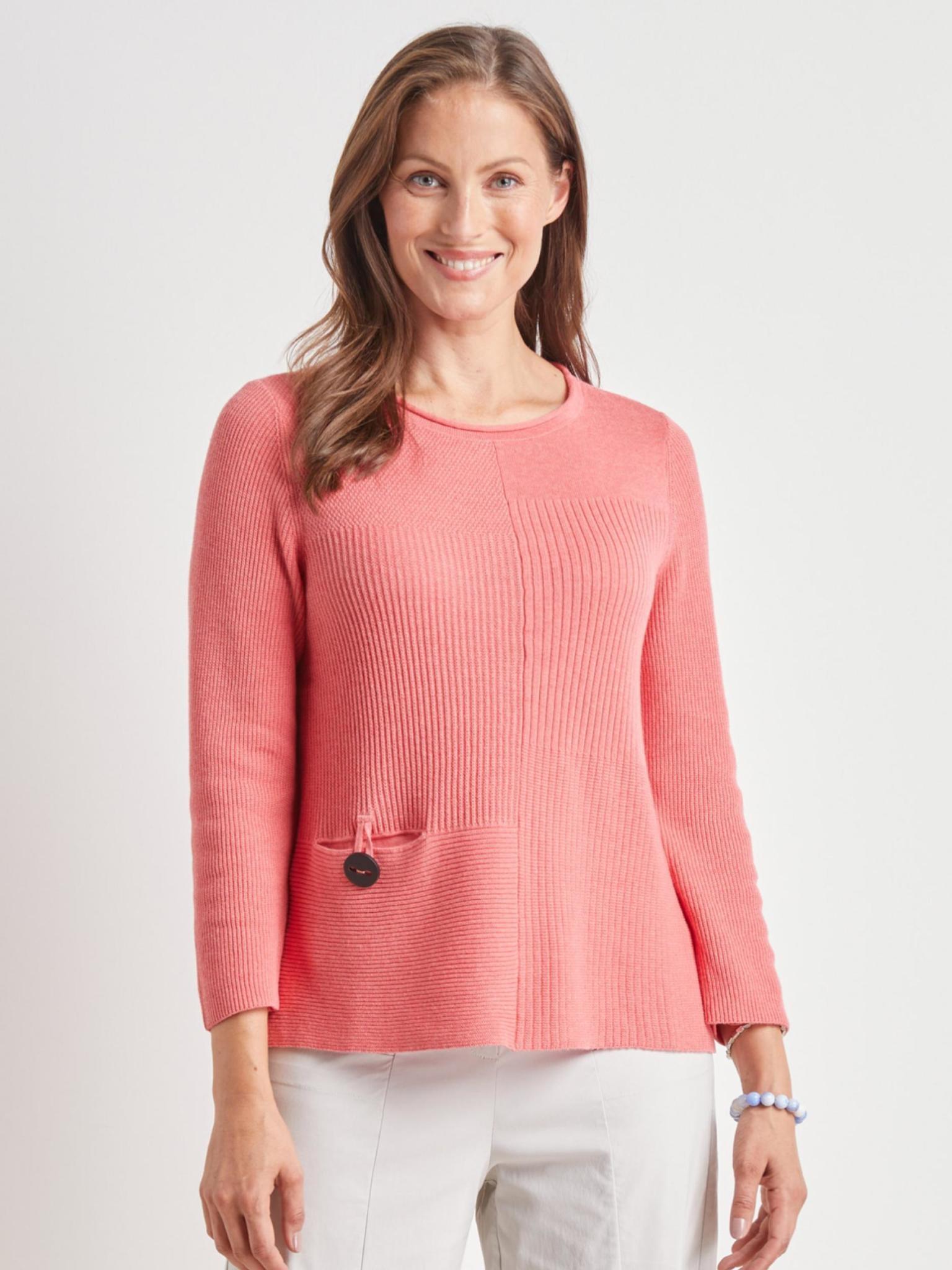 Habitat Mix Stitch Pullover