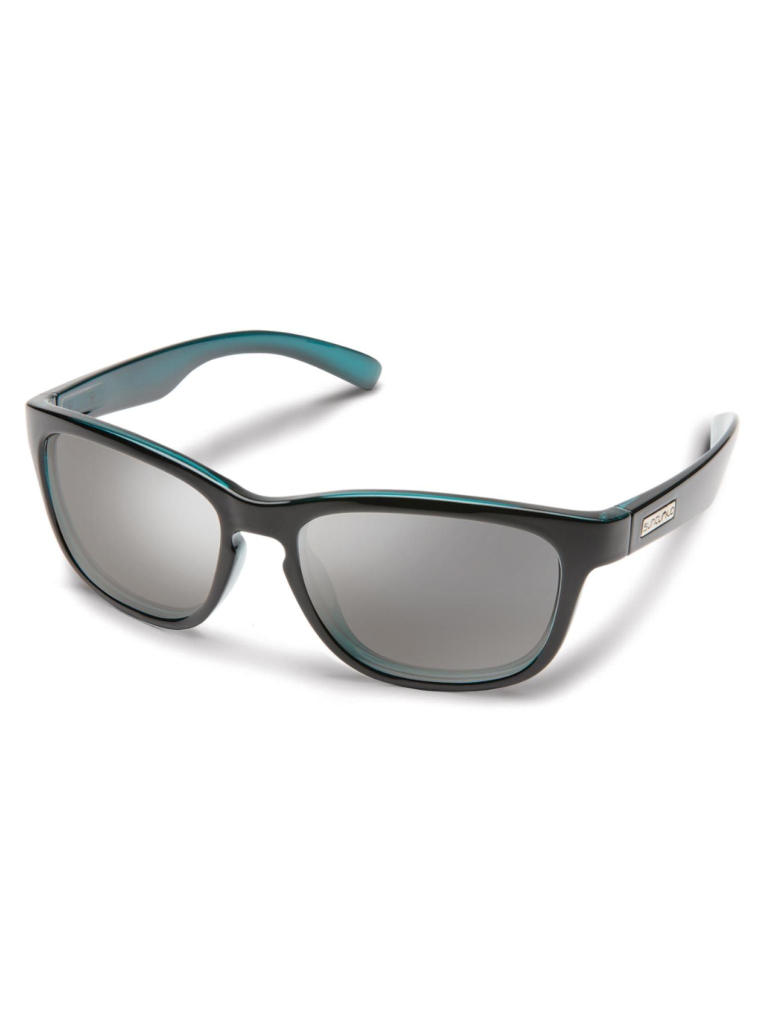 Cinco Sunglasses Aqua Backpaint Polarized Silver Mirror
