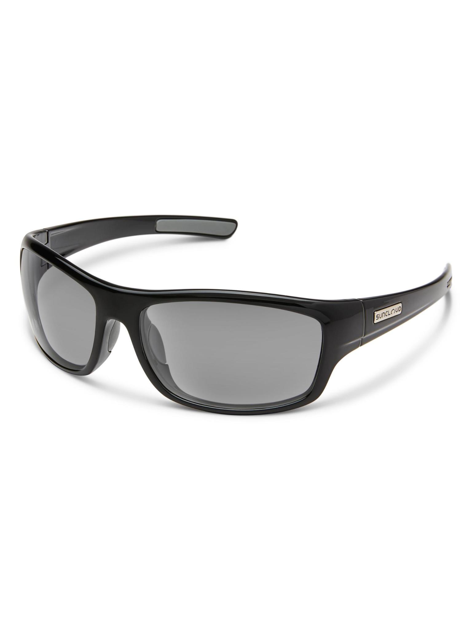 Cover Sunglasses Black Polarized Grey