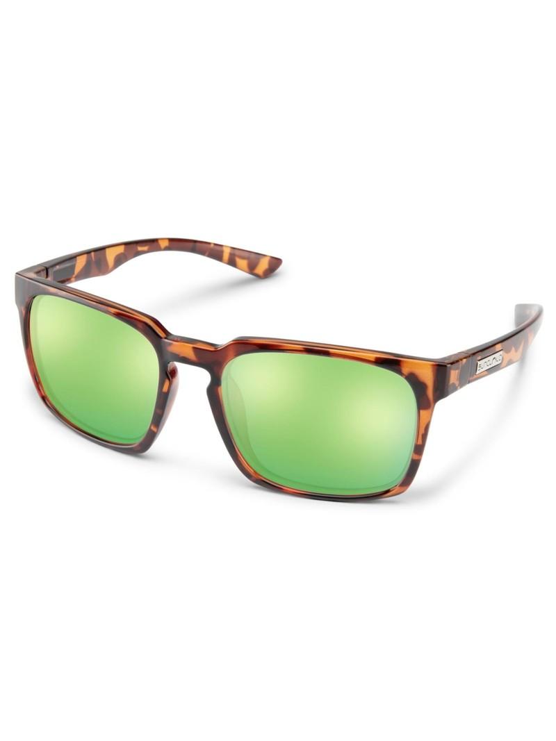 Hundo Tortoise Polarized Green Mirror